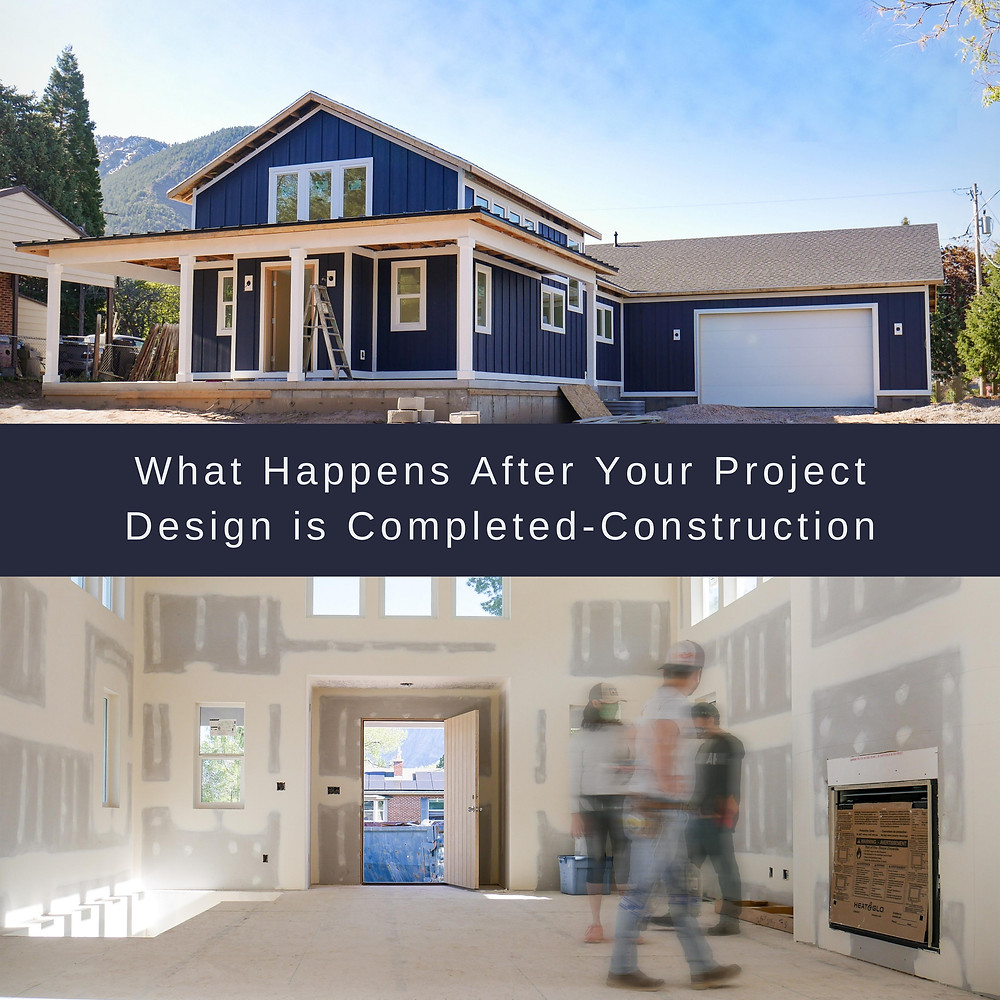 What happens after your project design is completed