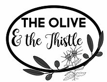 Truck Door Olive Thistle B and W.jpg