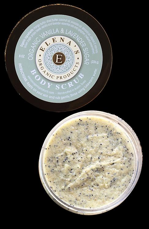 Body Scrub - Vanilla & Lavender Sugar