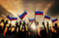 Waving the Russian Flag