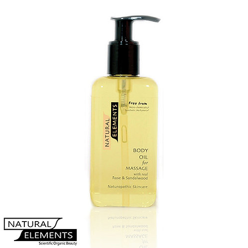 No: 4 Rose & Sandlewood Body Oil