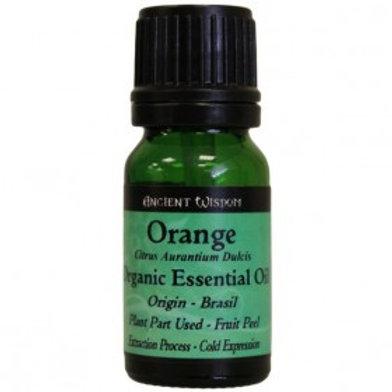 Orange Organic essential Oil 10ml