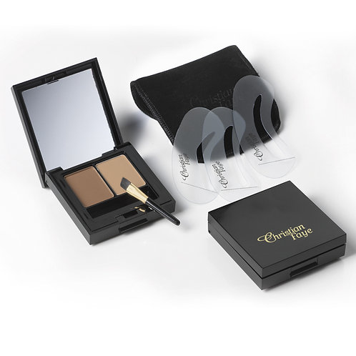 Christian Faye Eyebrow Duo Kit Deep Blonde