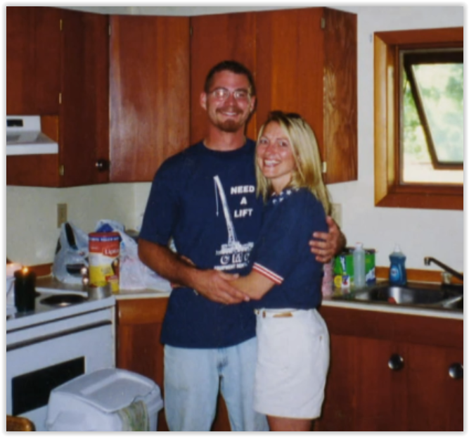 Brian Earley with Michele
