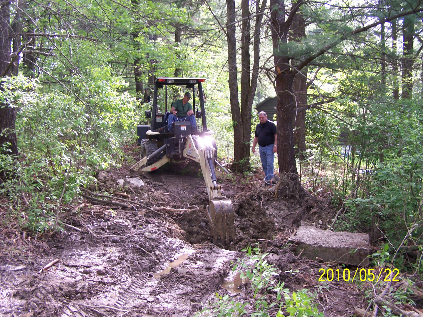 Digging up Old Well