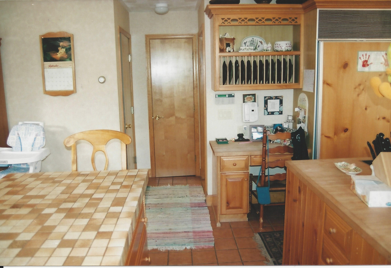 Kitchen entryway