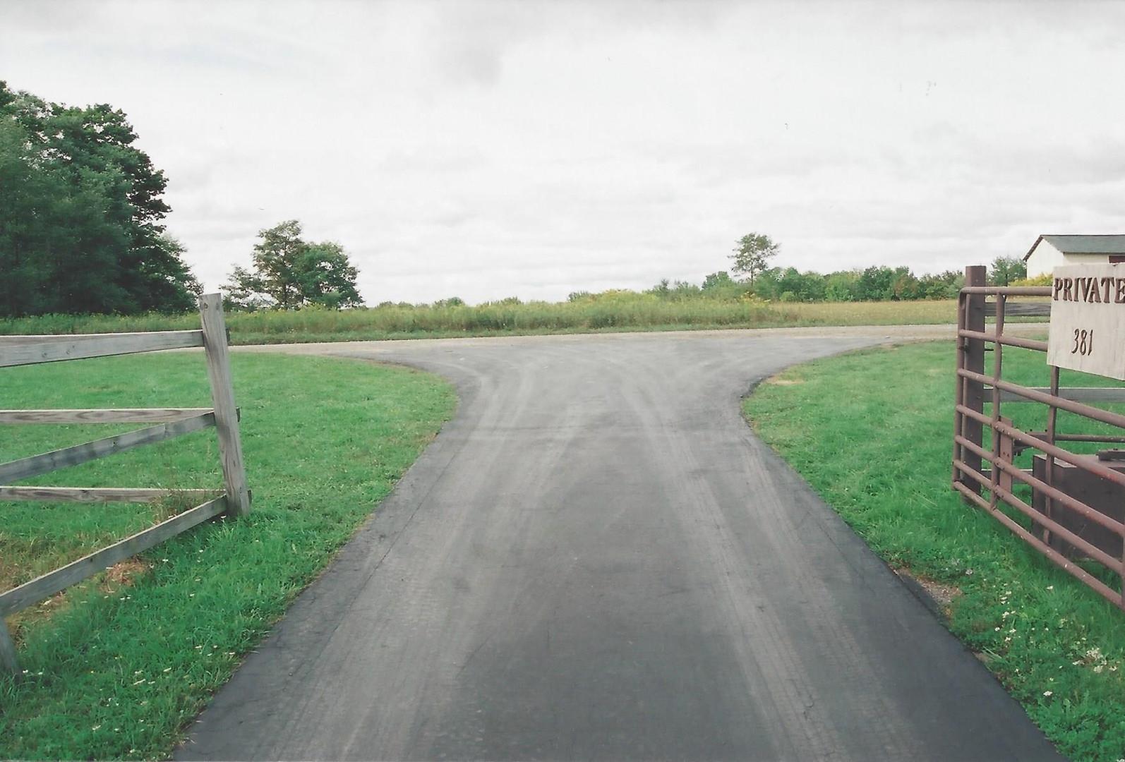 Driveway meets Hagadorn Hill