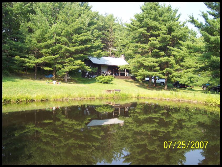 Stewart's Cabin & Nearby Pond