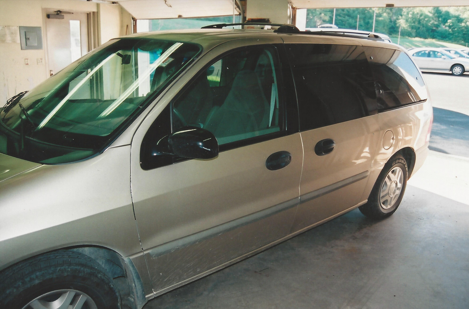Michele's van