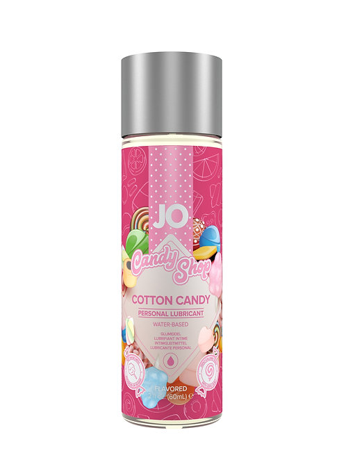 JO H20 'Candy Shop' Flavoured Lube - Cotton Candy