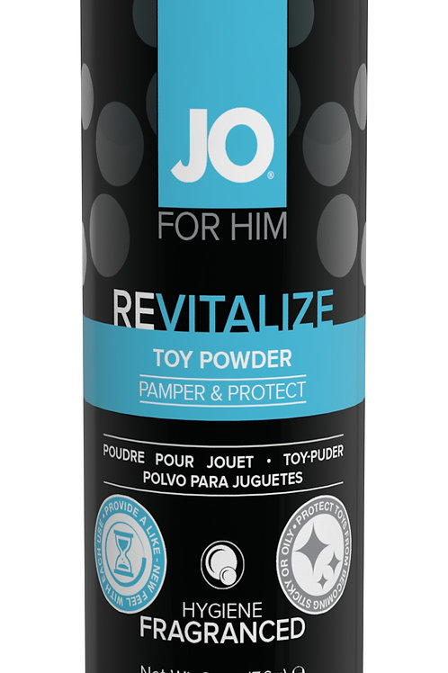 JO Revitalize Toy Powder for Him (2oz/60ml)
