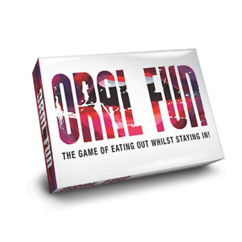 Adult Board Game - 'Oral Fun'