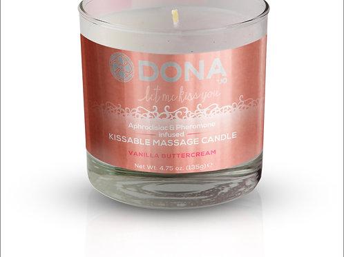Dona by JO Kissable Massage Candle - Vanilla
