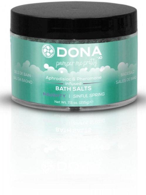 "Dona by JO Bath Salts - Sinful Spring ""Naughty"" (7.5oz/215g)"