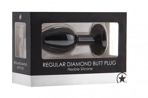 'Ouch!' Diamond Butt Plug - Regular