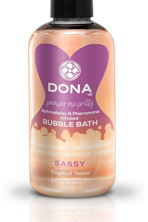 "Dona by JO Bubble Bath - Tropical Tease (8oz/240ml) ""Sassy"""