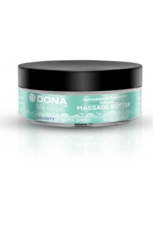 "Dona by JO Massage Butter - Sinful Spring ""Naughty"" (4oz/120ml)"