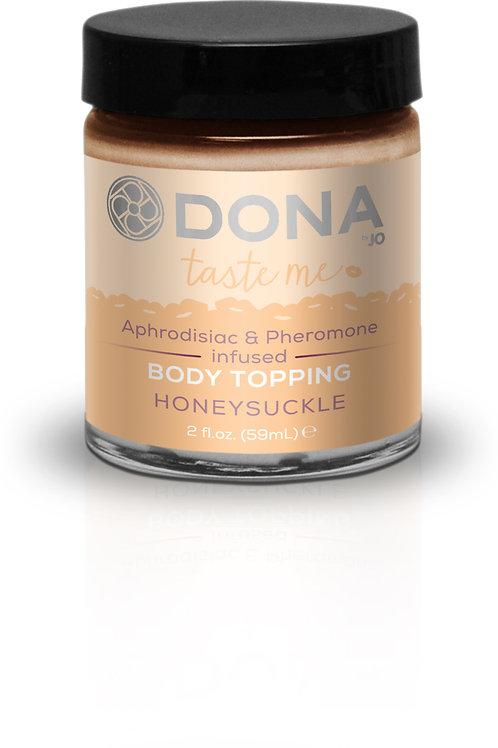 Dona by JO Kissable Body Topping - Honeysuckle (2oz/60ml)