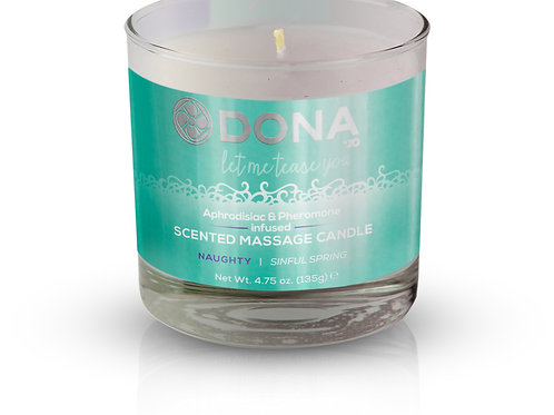 """Dona by JO Scented Massage Candle - Sinful Spring """"Naughty"""""""