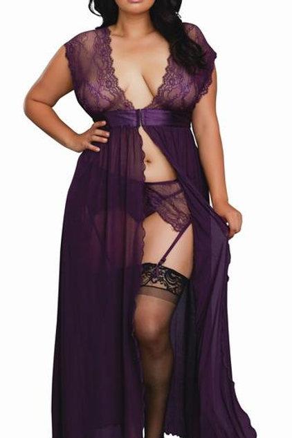 Dreamgirl Gown & Garterbelt