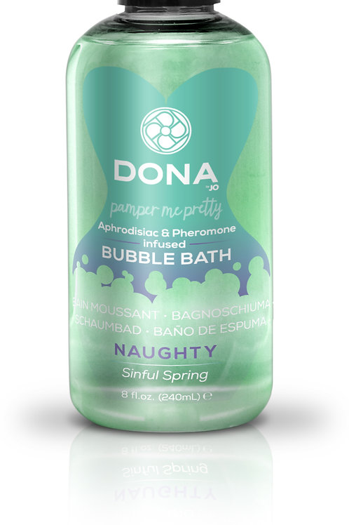 "Dona by JO Bubble Bath - Sinful Spring (8oz/240ml) ""Naughty"""