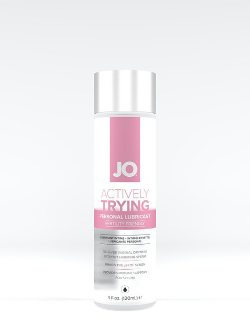 JO 'Actively Trying' Lubricant (4oz/120ml)