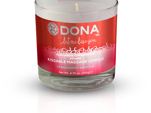 Dona by JO Kissable Massage Candle - Strawberry