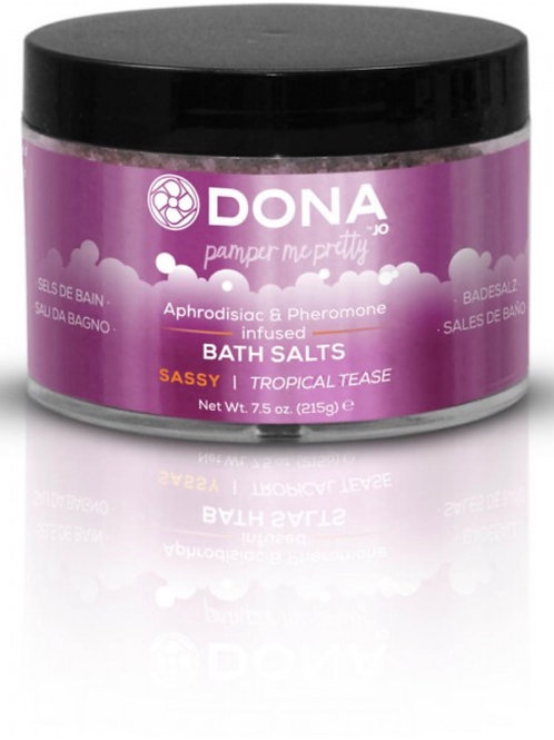 "Dona by JO Bath Salts - Tropical Tease ""Sassy"" (7.5oz/215g)"