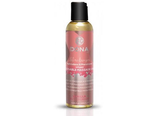 Dona by JO Kissable Massage Oil - Vanilla (4.25oz/125ml)