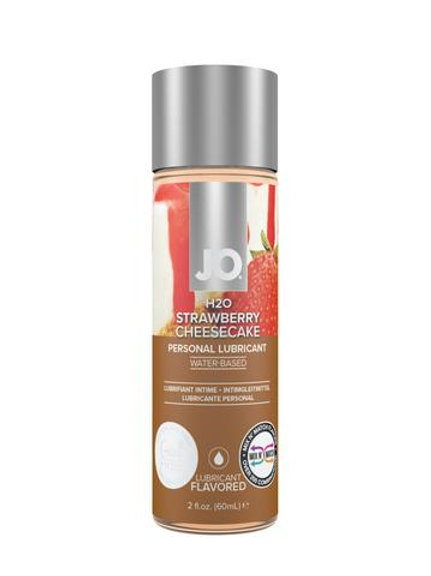 JO H2O Flavoured Lubricant - Strawberry Cheesecake (2oz/60ml)