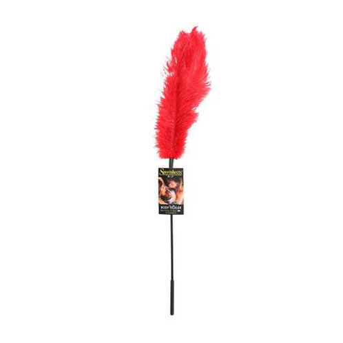 Sportsheets Red Ostrich Feather Tickler