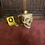 Thumbnail: Skull Mug (Gold/with Jaw)