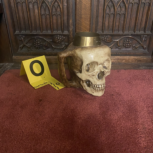Skull Mug (Gold/with Jaw)