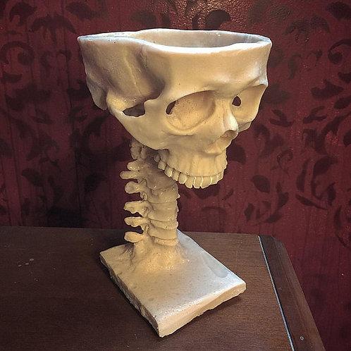 Human Skull Goblet