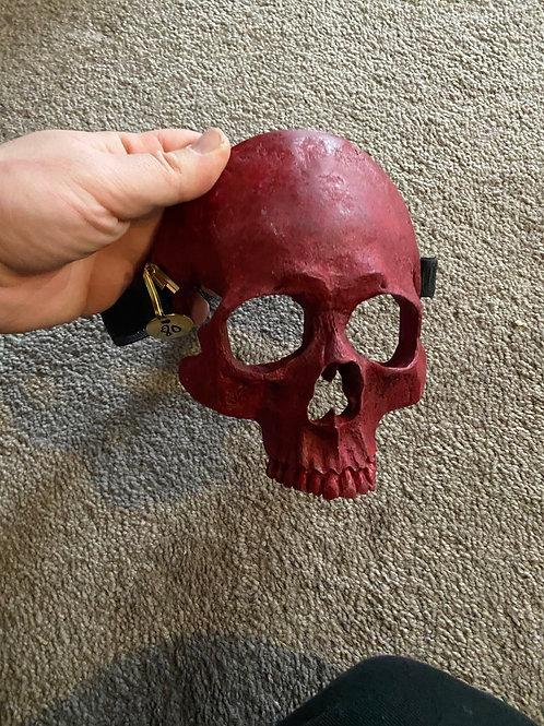 Skull Mask (red)