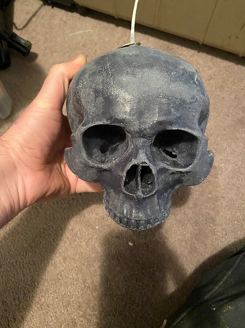 Skull Candle (cherry)