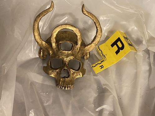 Skull Mask - Golden Eyes