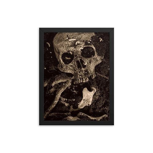 Framed Skeleton poster 03