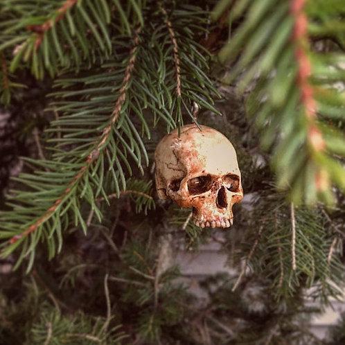 Mini Skull Ornament