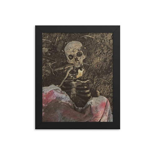 Framed Skeleton poster 05
