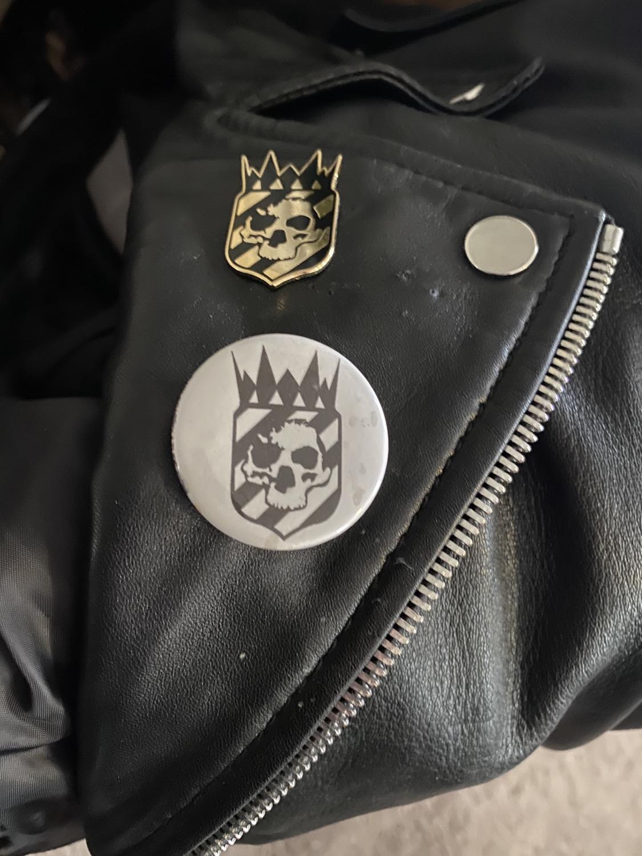 Thumbnail: Catacomb Culture Logo Circle pin
