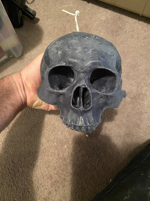 Skull candle (rose)