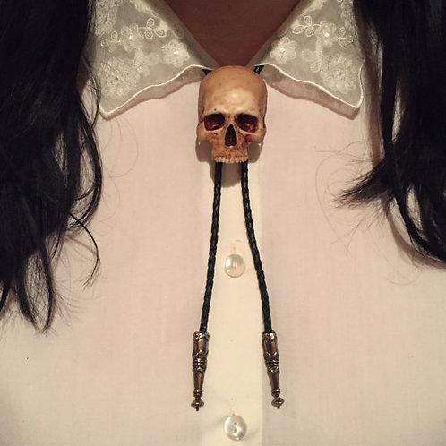 Skull Bolo Tie