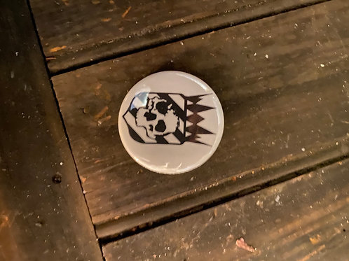 Catacomb Culture Logo Circle pin