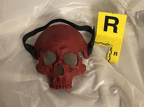 Skull Mask - Red
