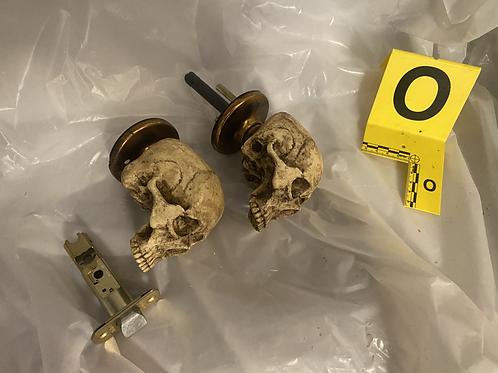 Twistable Skull Door Knob (RH)