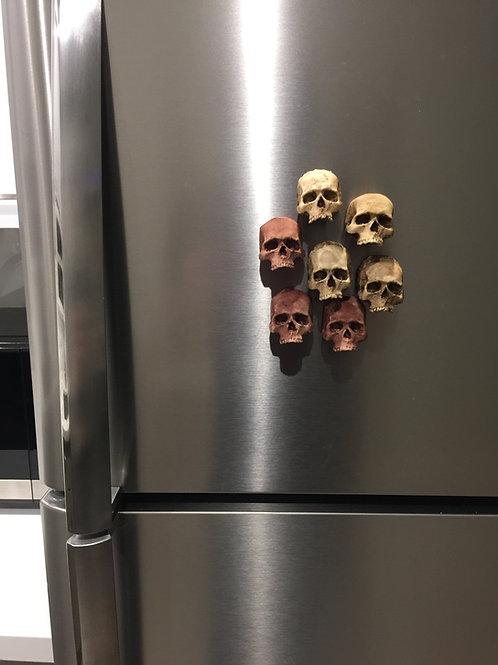 Mini Skull Magnet