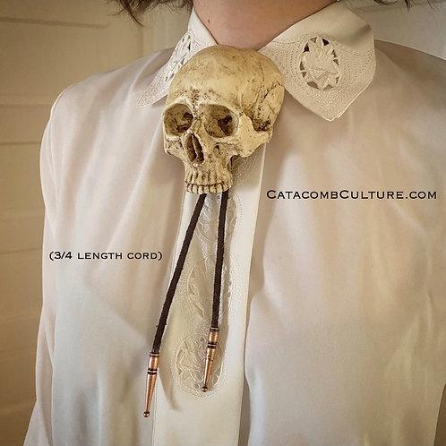 Human Skull Bolo (Medium size)