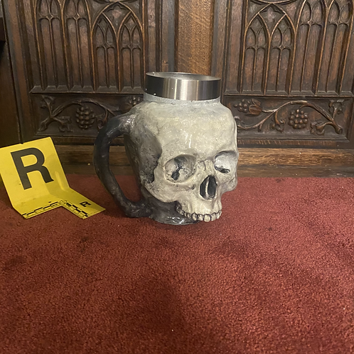 Skull Mug (Bone/No Jaw)