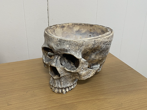 Food Safe Skull Bowl (12oz)